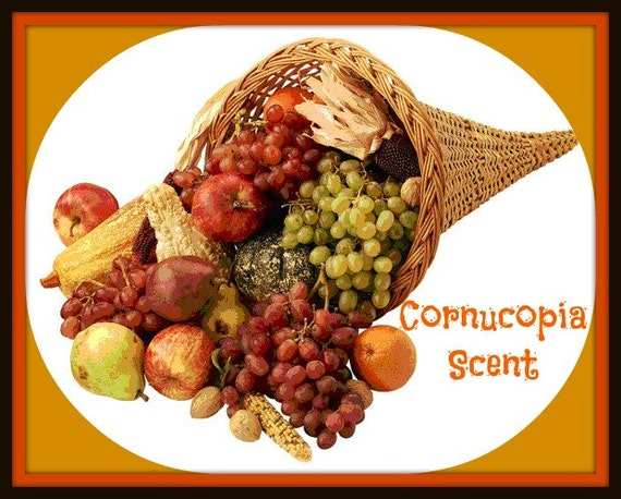 CORNUCOPIA Scented Soy Wax Melts - Fruit - Nuts - Caramel - Fall Scented Soy Tart - Flameless Wickless Candle - Highly Scented - Made In USA