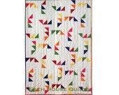 Triangle Maze quilt pattern