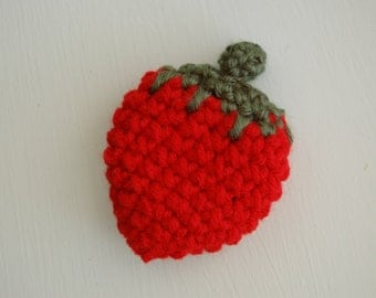 Sweet Strawberry Measuring Tape in Red