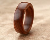 Custom Guayacan Wood Ring - 7mm