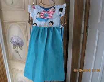 Betty Boop Kitchen Towel Dress