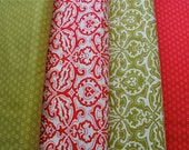 Fig tree Quilts Honey Sweet 1/2 yard bundle Christmas Red and Green bundle