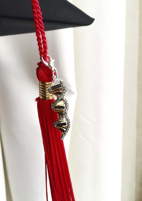 Dna Graduation Cap Tassel Accessory Custom Colors