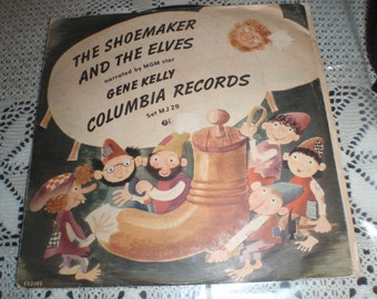 Vintage Children Story Narrated by MGA star Gene Kelly Columbia Records