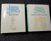 Precious Moments set of 2 Miniature Books