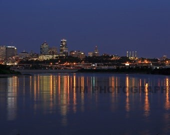 Kansas City Skyline - Missouri - Kansas City Missouri - Fine Art Photography - Kansas City Nights