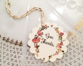 Give Thanks- Thanksgiving Gift and Favor Tags