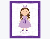 Personalized Princess Puzzle - Christmas Personalized Puzzle - Personalized Kids Puzzle