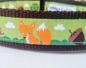Lucky Friends - Dog Collar / Handmade / Pet Accessories / Adjustable / Deer / Fox