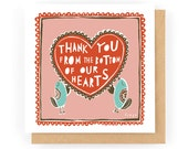 Thank you from the bottom of our hearts - Greeting Card (1-26C)