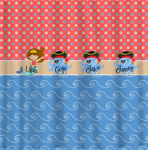 Items Similar To Day At The Beach Shower Curtain Theme