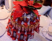 Holiday Candy Cake/Centerpiece