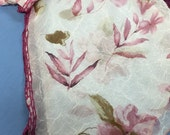 Floral Blush Scarf