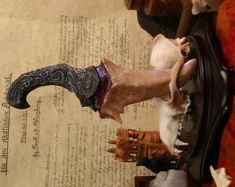 "Dragon Tooth ""Falkor"" Dagger - Dark Bronze"