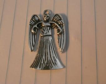 Weeping Angel II  Antique Silver