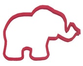 "Circus Elephant cookie cutter 5""  carnival, zoo cookie cutter, baby shower cookie cutter"