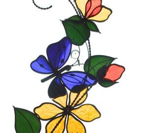 butterfly scroll panel
