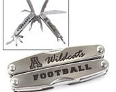 Personalized 10 Function Multi Tool Pocket Knife - Laser Engraved