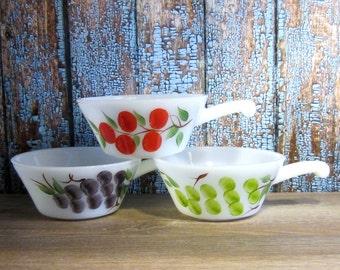 Gay Fad Handled Soup Bowls - Set of Three