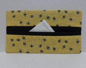 Tiny Bumblebees Tissue Cozy/Gift Card Holder/Party Favor/Wedding Favor