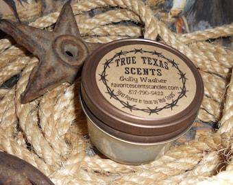 Memories of Yesterday- 4 oz Mason Jar Western Cowboy Candle