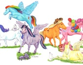Little Ponies - My Little...