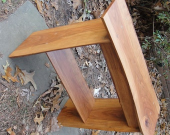 Table Cherry with Live Edges