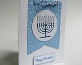 Hanukkah Greeting Cards - Hanukkah  Card Set - Happy Hanukkah - Chanukkah - Menorah - SALE