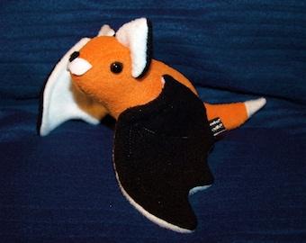 Flying Fox Bat Plushie - kawaii Plush
