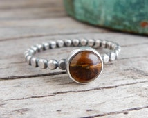 Unique Tigers Eye Ring Related Items Etsy