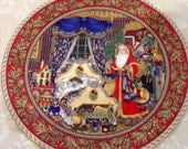 The night before Christmas by Royal Worcester by sue Scullard, part of the Christmas past series number four