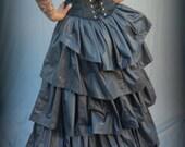 c. 1880 Bustle Petticoat, Victorian, Gothic Historic