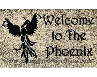 welcome to the Phoenix™ firebird doormat