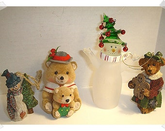 Christmas Craft Items Assorted Lot/Holiday/ Craft Supplies**