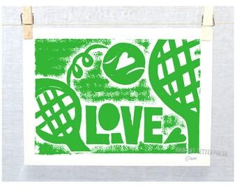 Australian Open, Tennis Love, Wall Art, Typography, Grand Slam Tennis, Girls Sport, Tennis, Wimbledon, US OPEN, Girl Power, Teen Girl art