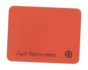 Soccer Ball Post Card Notes - Note Cards
