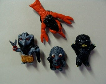 Youkai(Japanese Monsters)That Cut Magnet Set