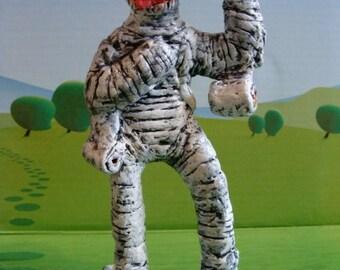 The Mummy-Clown Figurine(MC 4,no 3) *Made To Order*