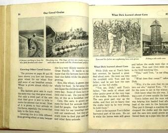 Worn Children's School Book 1935