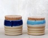 lidded jar kitchen canisters