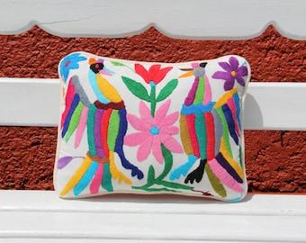 Multi colored otomi Sham Cushion