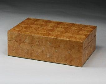 Bathos (Depth) Mahogany Jewelry Box