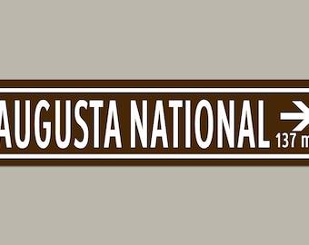 Custom Augusta National Masters Golf Road Sign