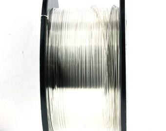 20 Gauge Sterling Silver Half Hard Wire  - starting 1 foot