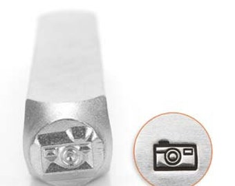Camera 6mm Design Stamp  - Low Shipping!