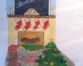 Customizable Needlepoint Christmas Stocking