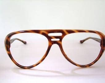 Japanese  Aviator Optical frames Tortoiseshell1960s 70s  High quality frames
