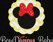 Minnie Mouse Shirt, Personalized Minnie Shirt, Custom Minne Mouse Shirt, Custom Minnie Shrit