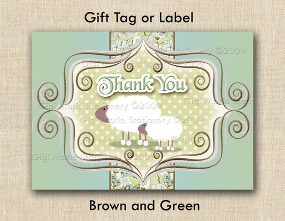 baby shower gift tags or labels stickers a baby 39 s brewing and tea