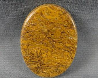 Script Stone Coquina Jasper Cabochon